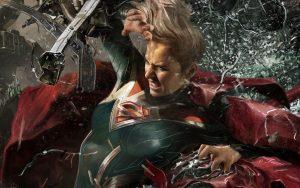 injustice 2 supergirl hd image