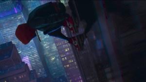 spiderman into the spider verse movie od