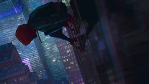 spiderman into the spider verse movie od