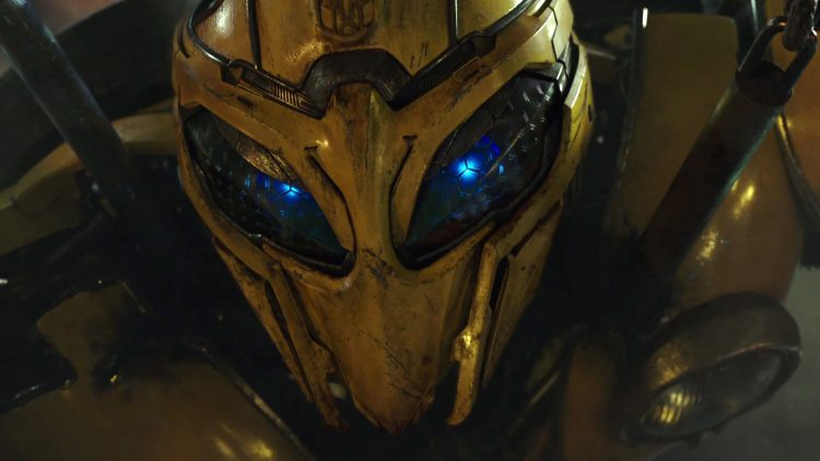 Bumble Bee's awesome eyes