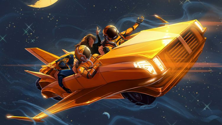 Space Taxi Party