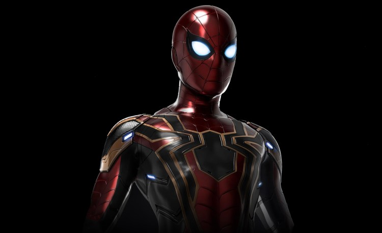 Spider-man from Infinity War