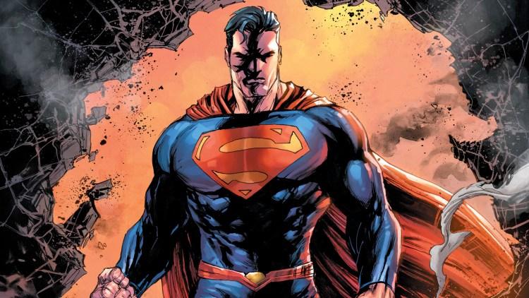 Superman is not happy