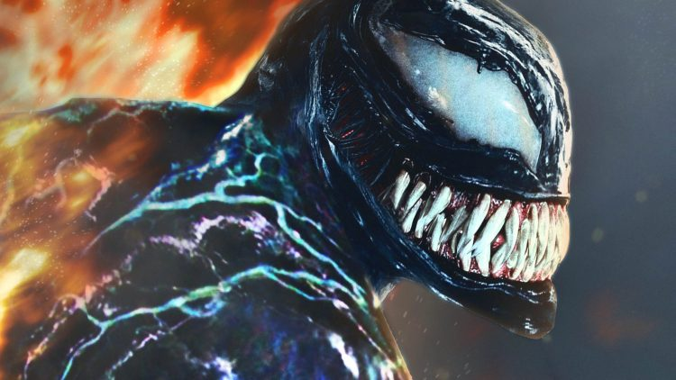 Venom has a cute smile