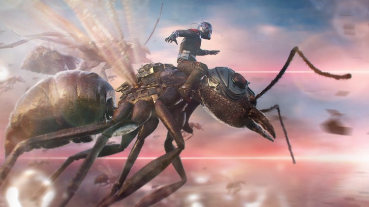 ant-man on an ant