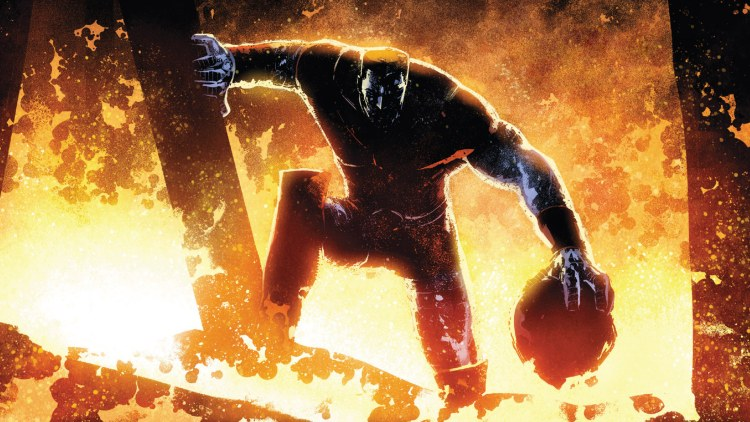colossus in the fire