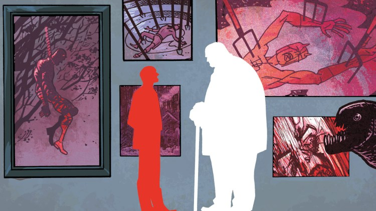 dead daredevil art gallery