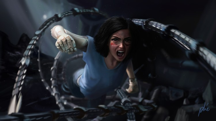 Alita before the twist