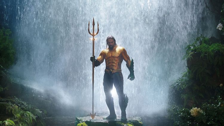 Aquaman in his awesome armor