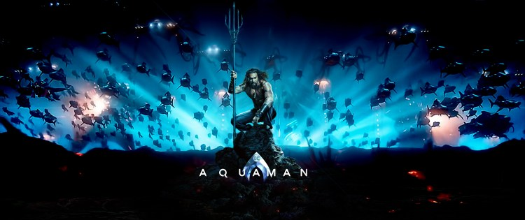 Aquaman in the dark