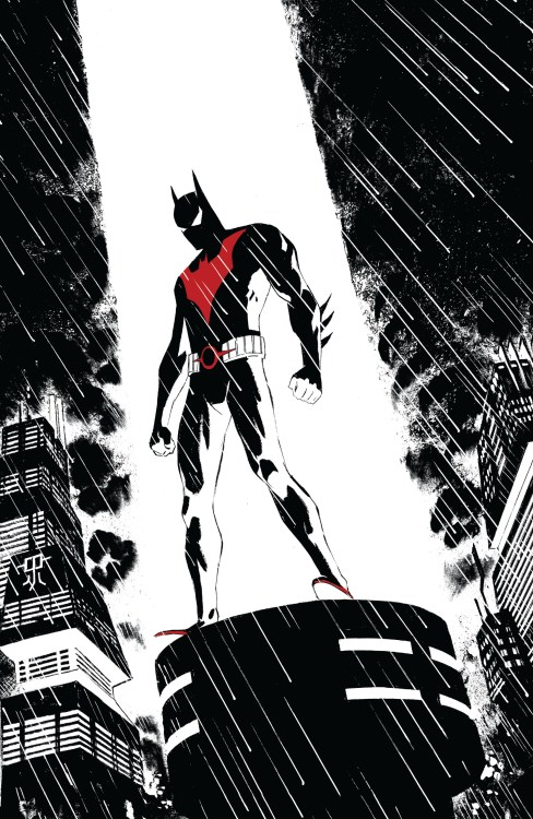 Batman Beyond on a light