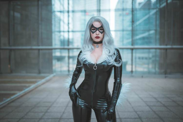 Black Cat from Marvel Comics by Enji Night