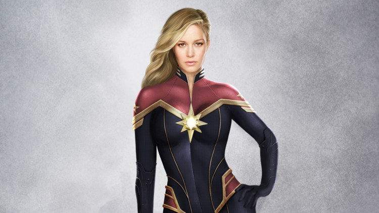 Captain Marvel artwork