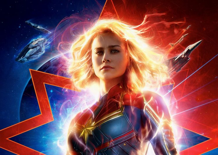 Captain Marvel is FIRE