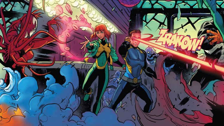 Cyclops and jean grey