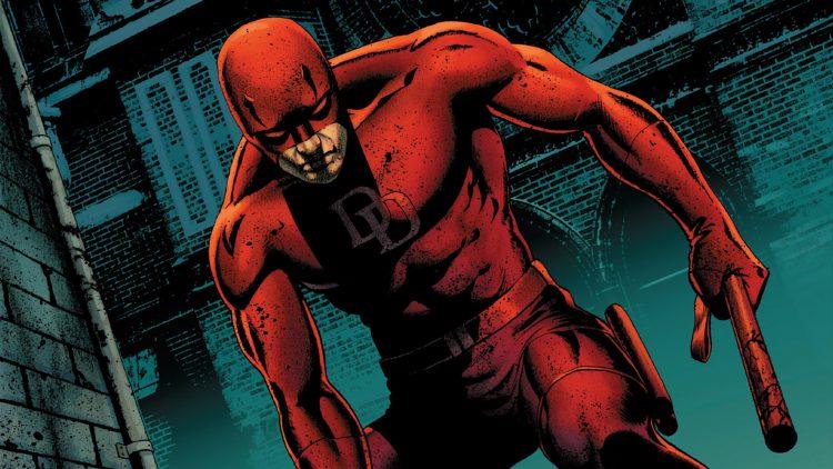 Daredevil in the alley