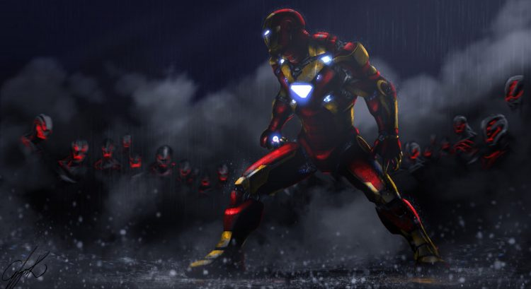 Iron Man vs Ultron
