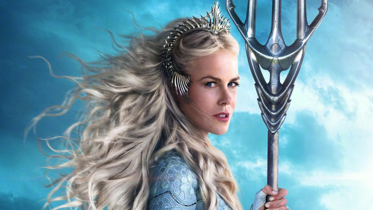 Queen Atlanna by Nicole Kidman in Aquaman
