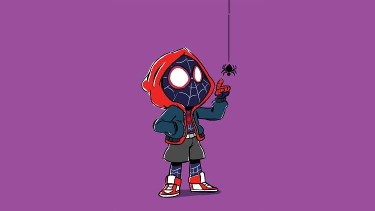 Spider-man chibi Morales
