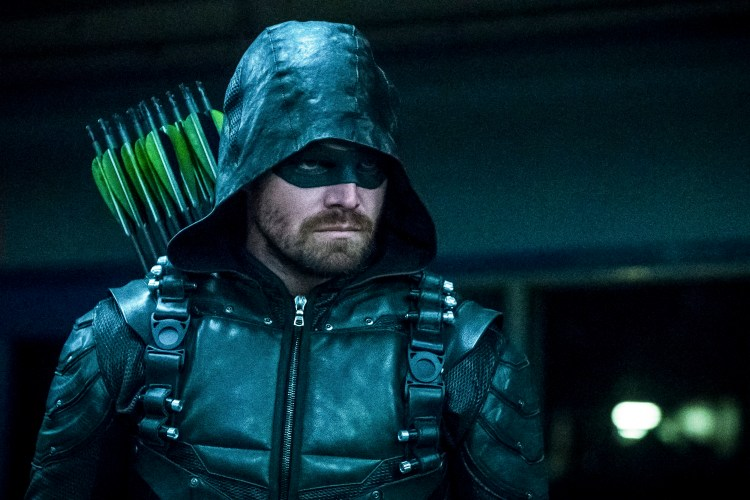 Stephen Amell as the arrow