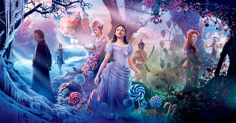 The Nutcracker and the Four Realms wallpaper