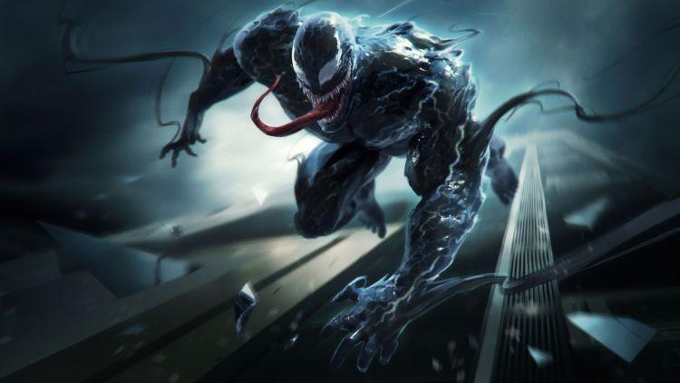 Venom leaps