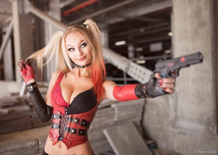 Zoeturnerxxx as Harley Quinn