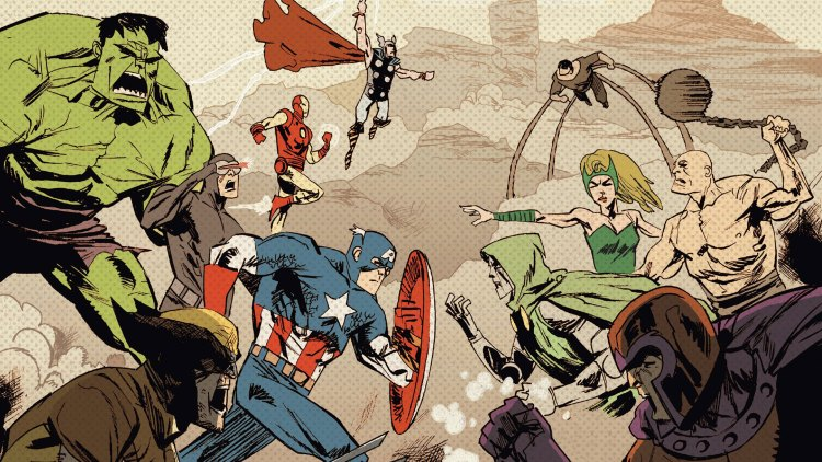 classic marvel characters