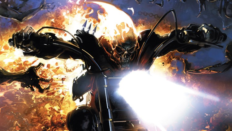 ghost rider in the flames