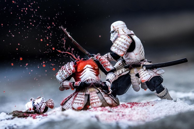 samurai storm trooper headless