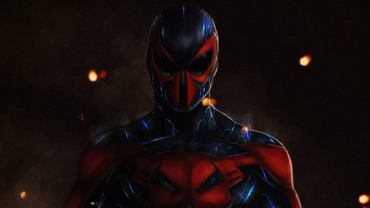 spider-man 2099 is shiney