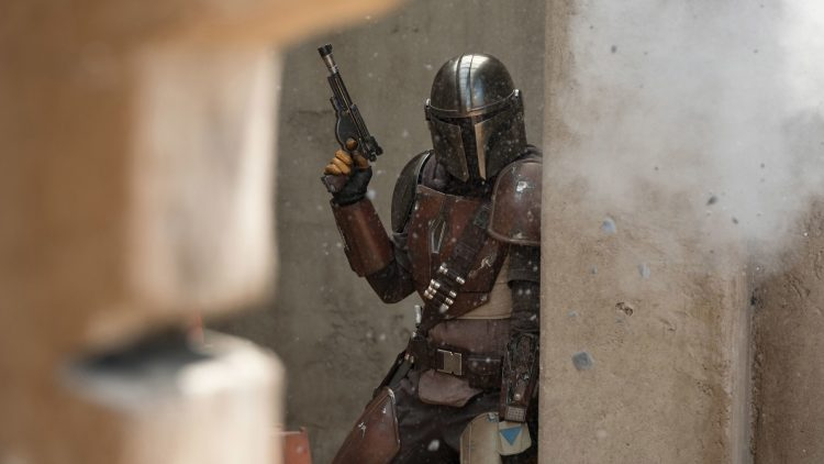 The Mandalorian under fire