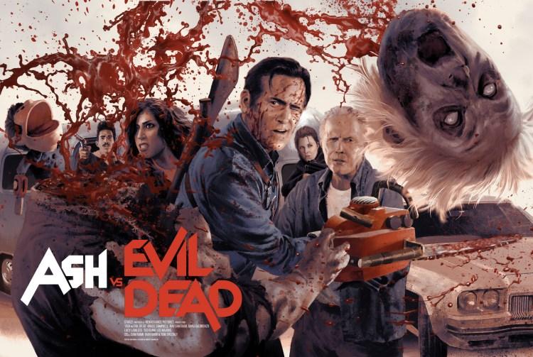 Ash vs Evil Dead poster wallppaer