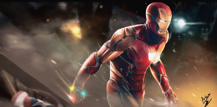 Iron Man Is Sparky