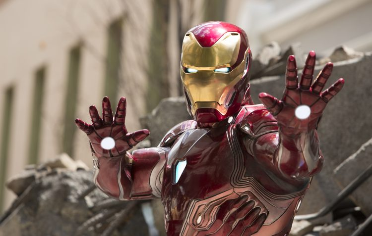iron man has jazz hands