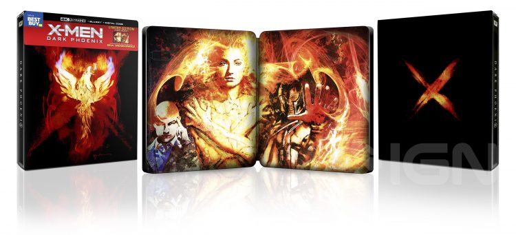 x-men dark phoenix steelbook