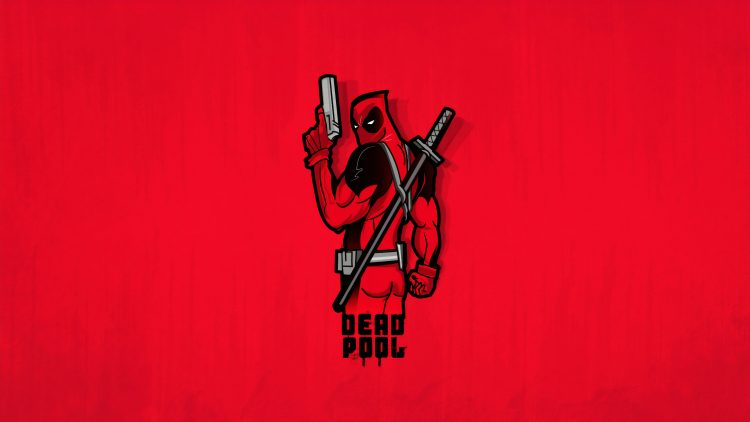 deadpool butt