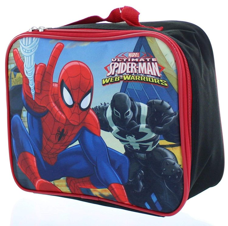 Ultimate Spider-man Web-Warrior Lunch Bag