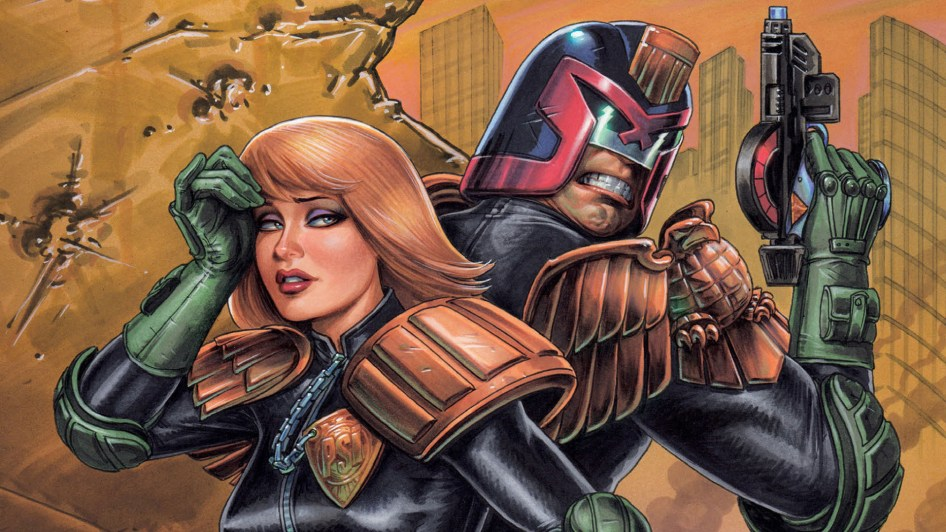 Dredd and Anderson
