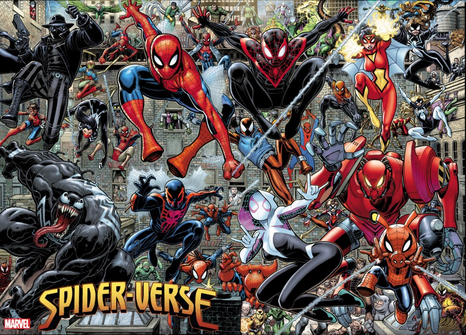SPIDER-VERSE ART ADAMS POSTER