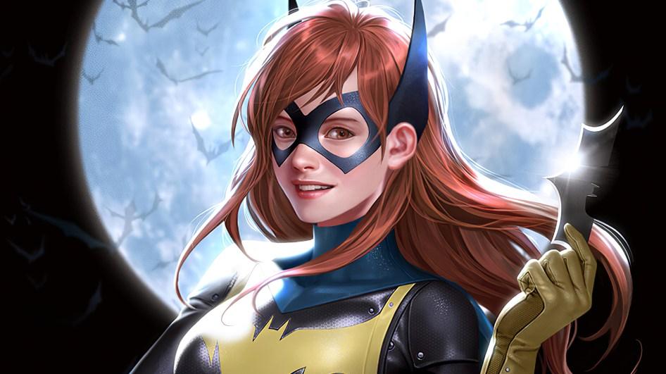 batgirl and her batarang