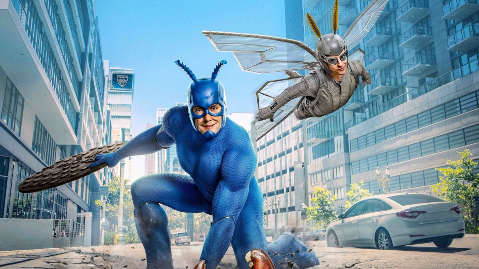 The Tick and Sidekick