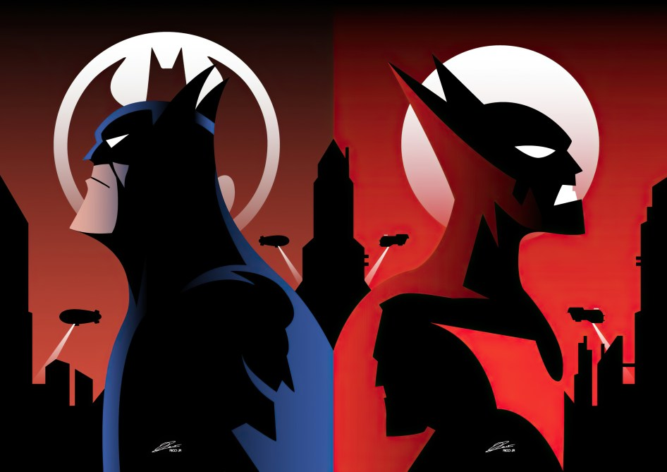batman and batman beyond