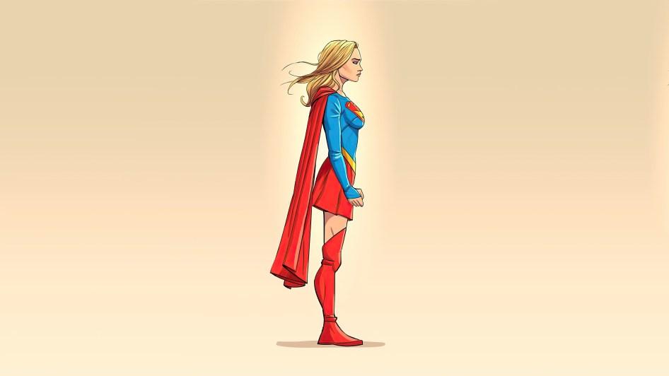 Supergirl is fierce