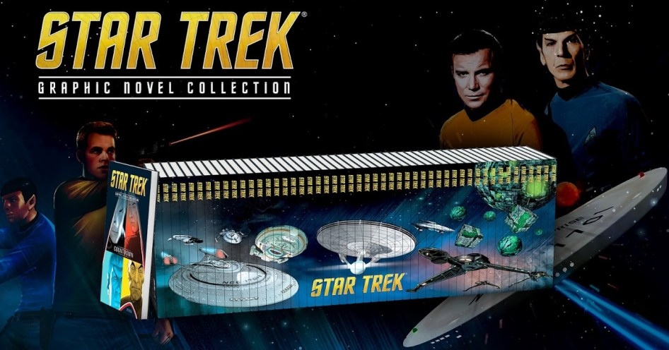 Interview Rich Handley on the Star Trek Graphic Novel Collection