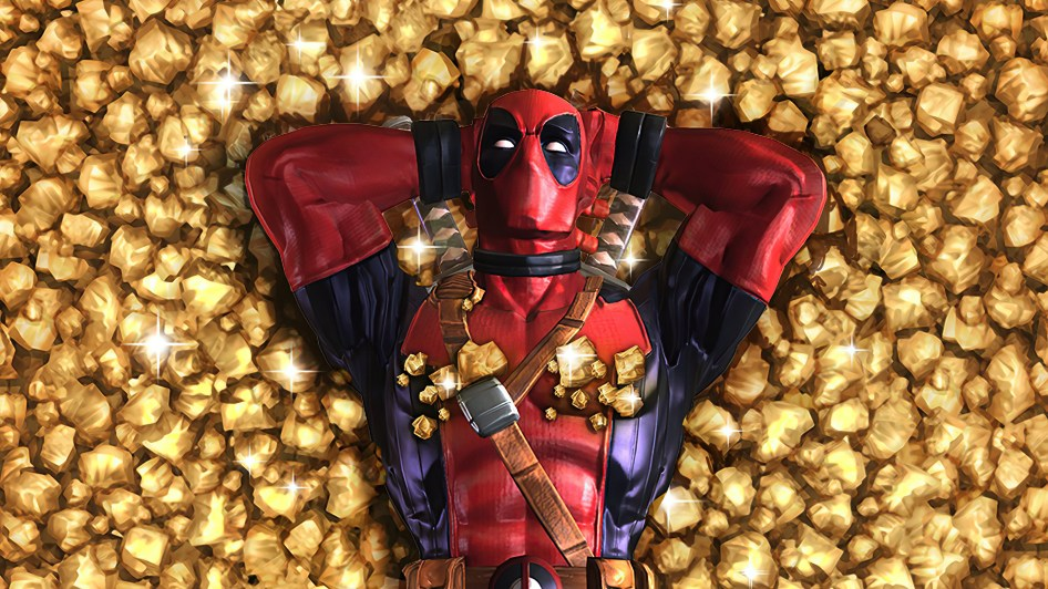 Deadpool is Golden