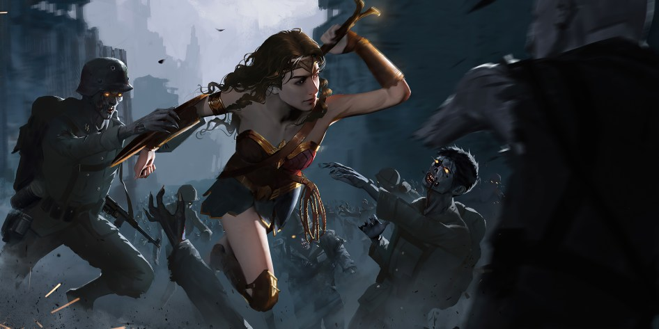 Wonder Woman vs Zombies