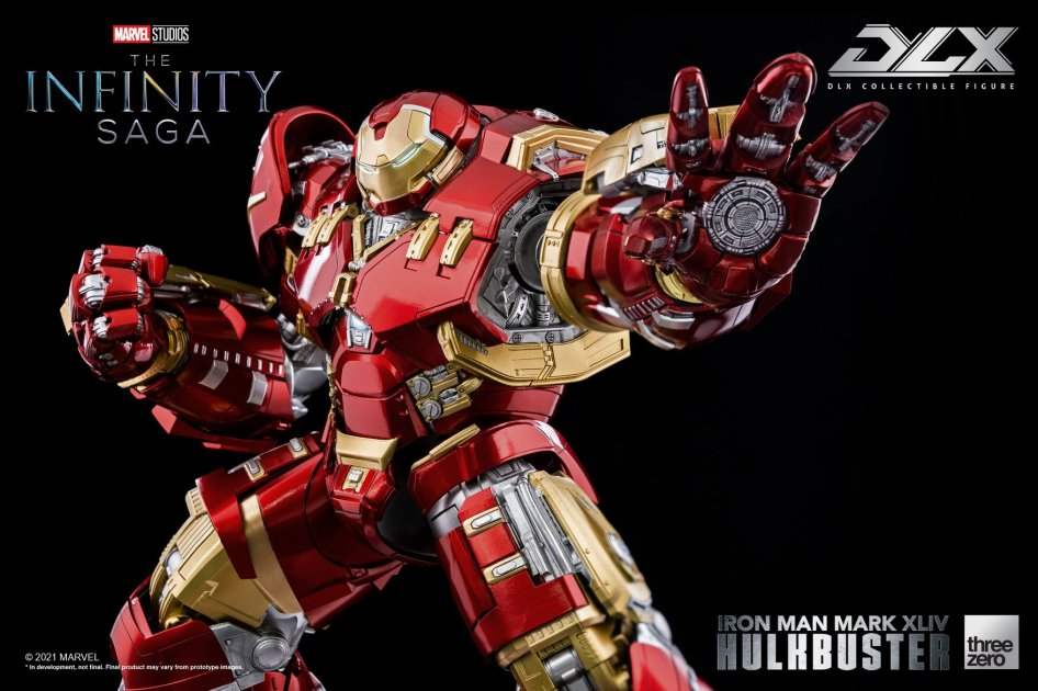 Avengers Age of Ultron – Hulkbuster Figure by ThreeZero