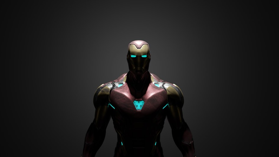 AquaMarine Iron Man