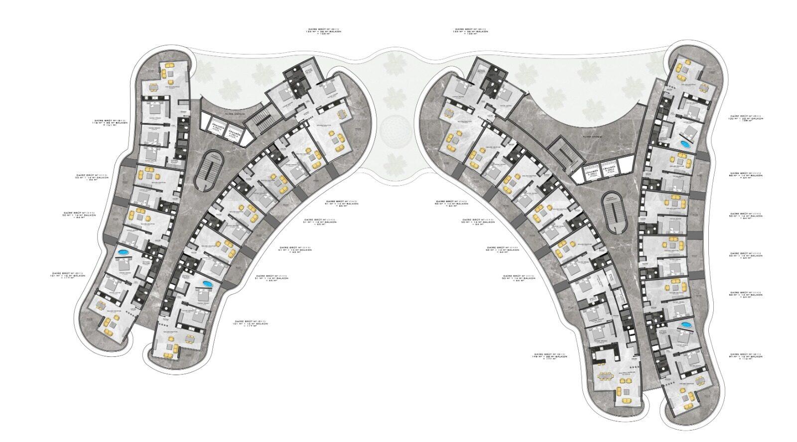 Plan of duplex 2nd floor